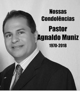 Nota de pesar pelo falecimento de Agnaldo Muniz