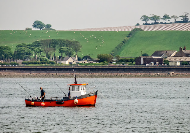 Photo of fishing boat Spurdog just off the Cumbrian coast