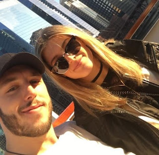 Eugenie Bouchard And Jordan Caron Taking Selfie