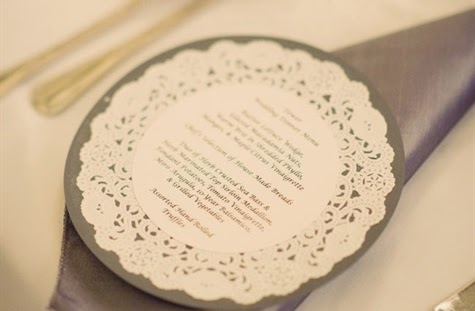 Ideias para decorar o casamento com Doilies de papel