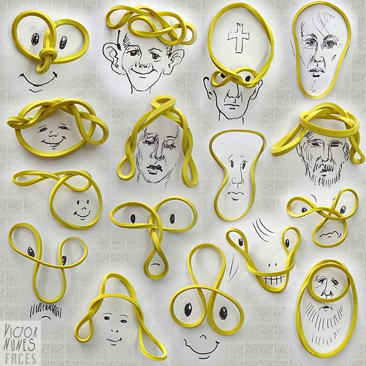 13-Rubber-Band-People-Victor-Nunes-The-Art-of-Making-and-Drawing-Faces-using-Everything-www-designstack-co