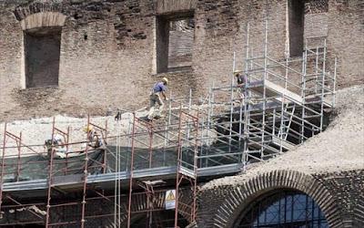 Ιταλία: Ολοκληρώθηκε η συντήρηση της εξωτερικής πλευράς του Κολοσσαίου