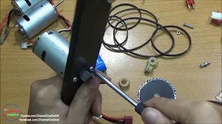 Tutorial Cara Membuat Sendiri Gergaji Mesin Mini