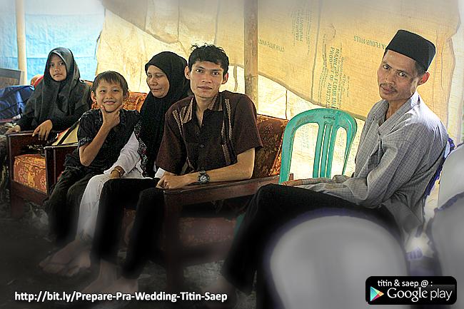 Seksi Dapur / Konsumsi pada Pra Wedding TITIN SAEP - Klikmg Fotografer Wedding