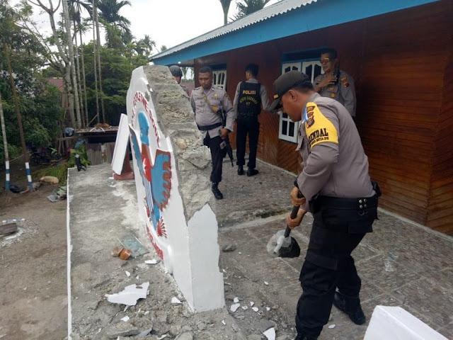 Markas Simpatisan Papua Merdeka Diambil Paksa TNI/Polri