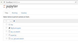Parallel IPython with Jupyter Notebooks on a SLURM cluster