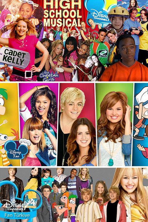 Eski Disney Channel'ı Özleyenler İçin Yeni Video Galeri (Tekrar)