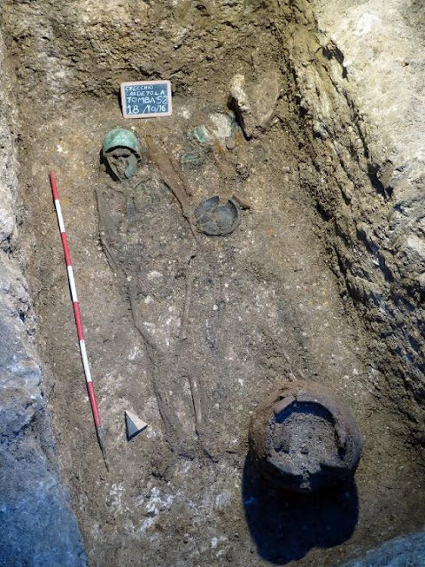Large Frentani necropolis excavated in Central Italy
