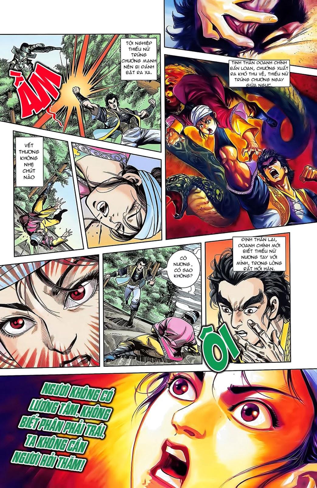 Tần Vương Doanh Chính chapter 15 trang 17