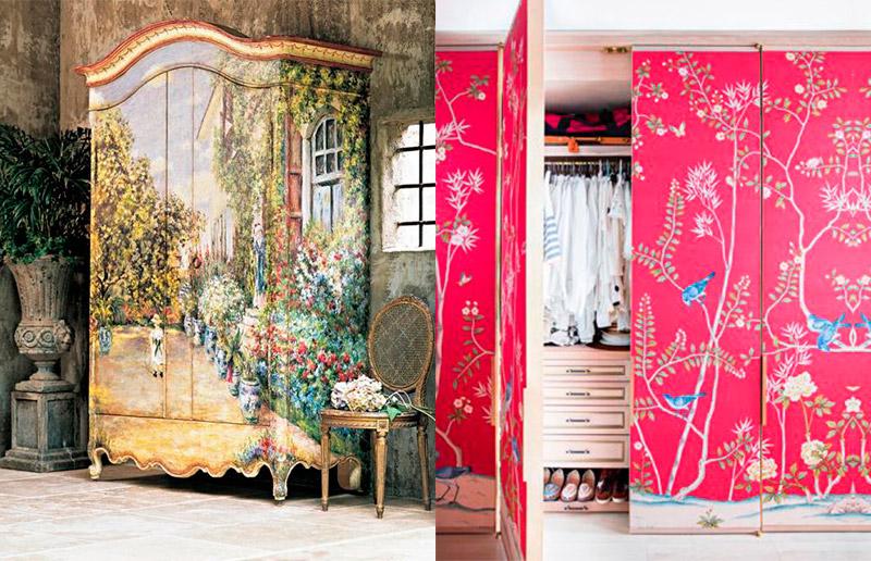 Olha como esses armários viraram verdadeiras obras de arte!