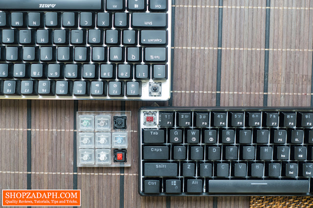 optical keyboard vs mechanical