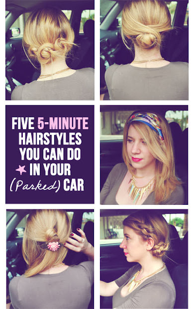 amazing super quick and easy hairstyles