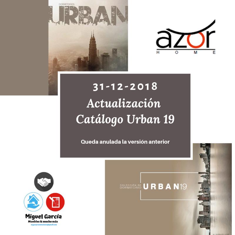 Miguel García González Actualización Catálogo Urban 19 By Muebles Azor