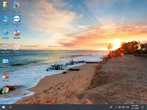 Bộ cài Windows 10 Enterprise LTSC 2019, Version 1809, OS Build 17763.652 (32-bit) - Dành cho máy yếu