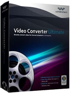 أقوى برنامج لتحويل صيغ الفيديو والأوديو مع مميزات عديدة Wondershare Video Converter Ultimate 10.1.0.133