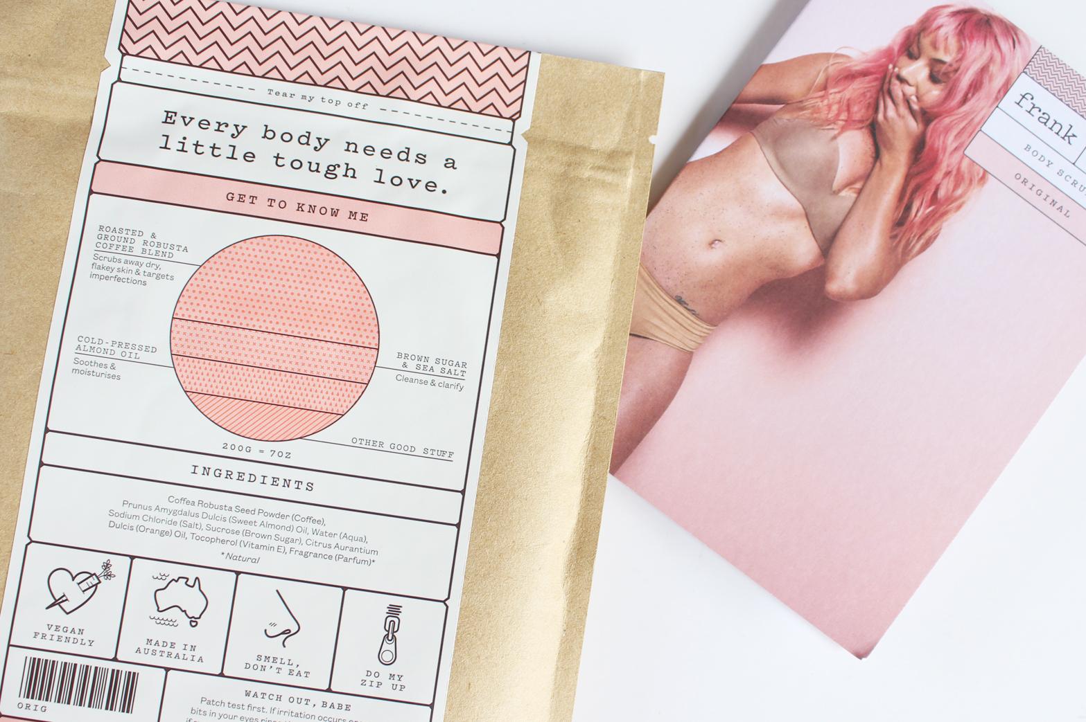 FRANK BODY | Product Overview + Reviews - Coffee Scrub, Body Cream, Lip Balm, Lip Scrub - CassandraMyee