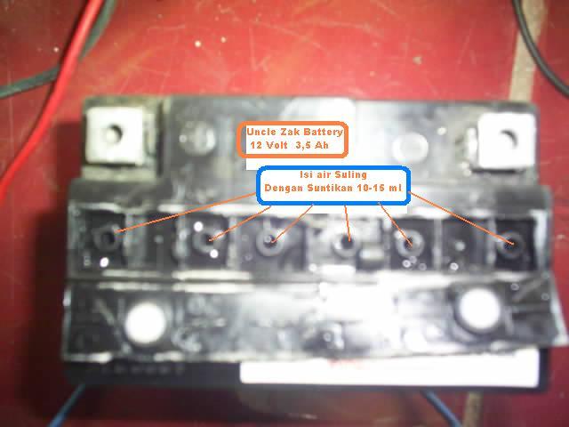 Solusi Battery Cara Servis Aki Kering Motor Dan Mobil
