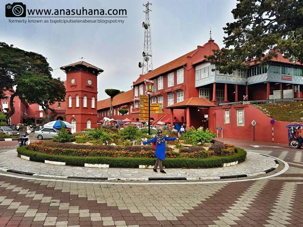 Tempat Menarik di Melaka : Jalan-jalan di Bandar Hilir - Bangunan Stadthyus