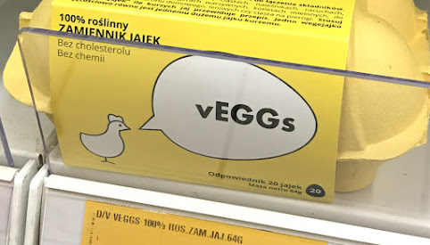 Zamiennik jajek, Veggs