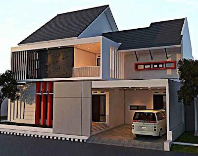 Desain rumah minimalis tipe 72