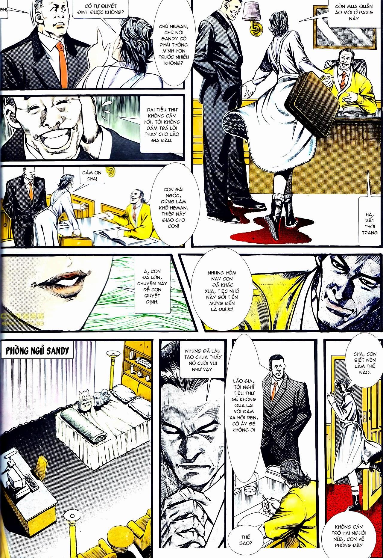 Người Trong Giang Hồ chapter 134: tấn công bảo nhi trang 11