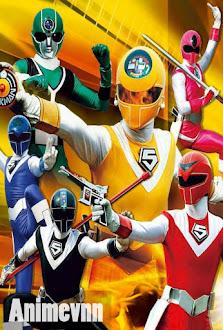 Hikari Sentai Maskman Movie -  2010 Poster