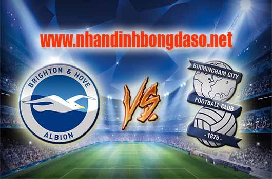 Nhận định bóng đá Brighton & Hove Albion vs Birmingham, 02h45 ngày 05/04