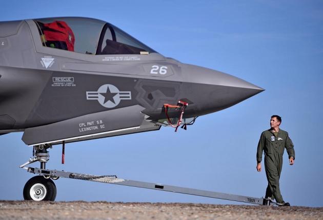F-35: Νέο ατύχημα του stealth μαχητικού της Αμερικανικής Πολεμικής Αεροπορίας