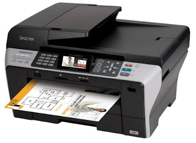 network device prints photos in addition to documents Brother MFC-6490CW Driver Downloads