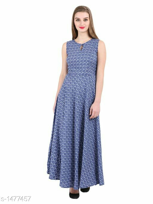 Voguish Crepe Women Dress