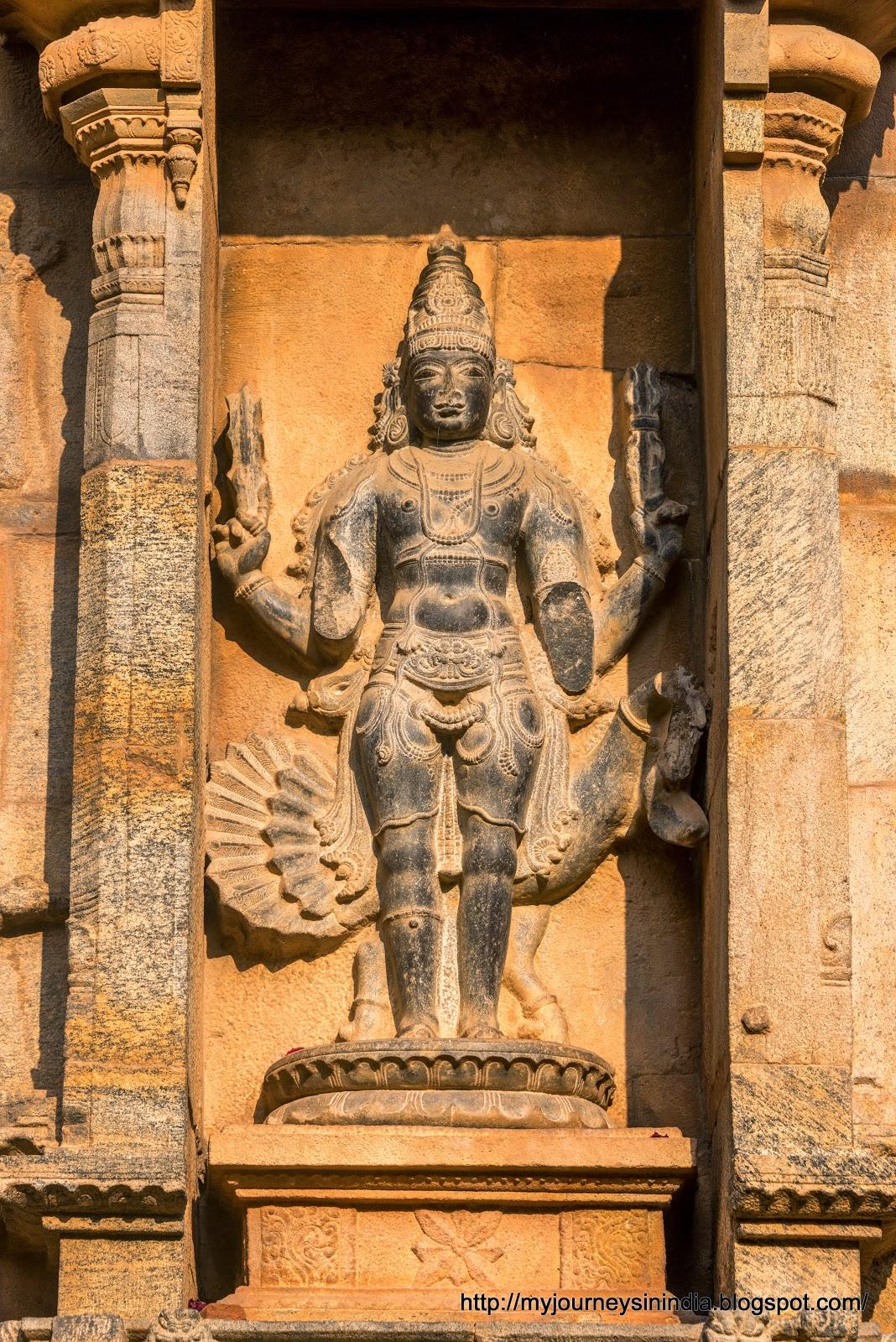 Thanjavur Brihadeeswarar Temple Murugan or Subramanya