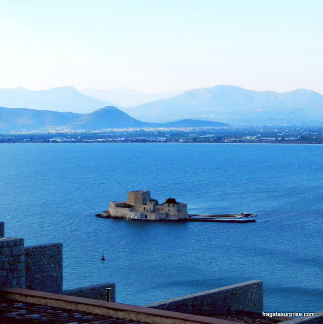 Fortaleza do Bourtzi, Nafplio, Grécia