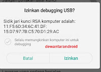 proses debugging usb