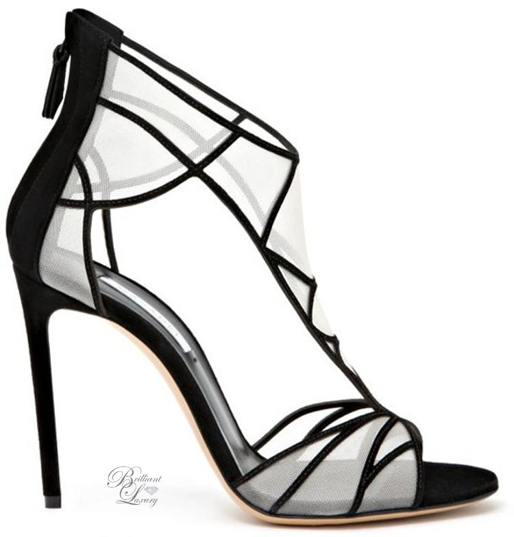 Brilliant Luxury ♦ Sheer Mesh Paneel Sandal