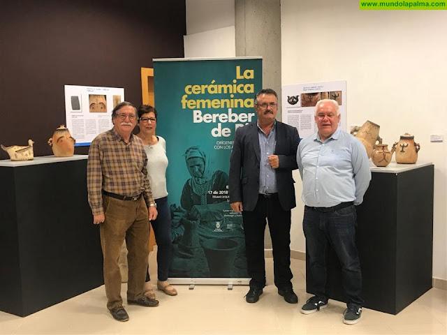 El Cabildo inaugura una muestra de cerámica bereber del Rif en el Museo Arqueológico
