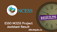 ESSO NCESS Project Assistant Result