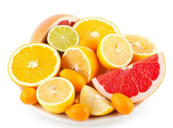 frutos citricos para el higado