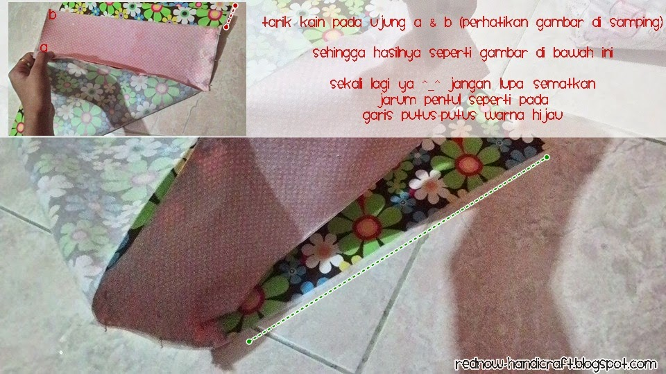 Red Now Handicraft: DIY :Sewing Machine Cover
