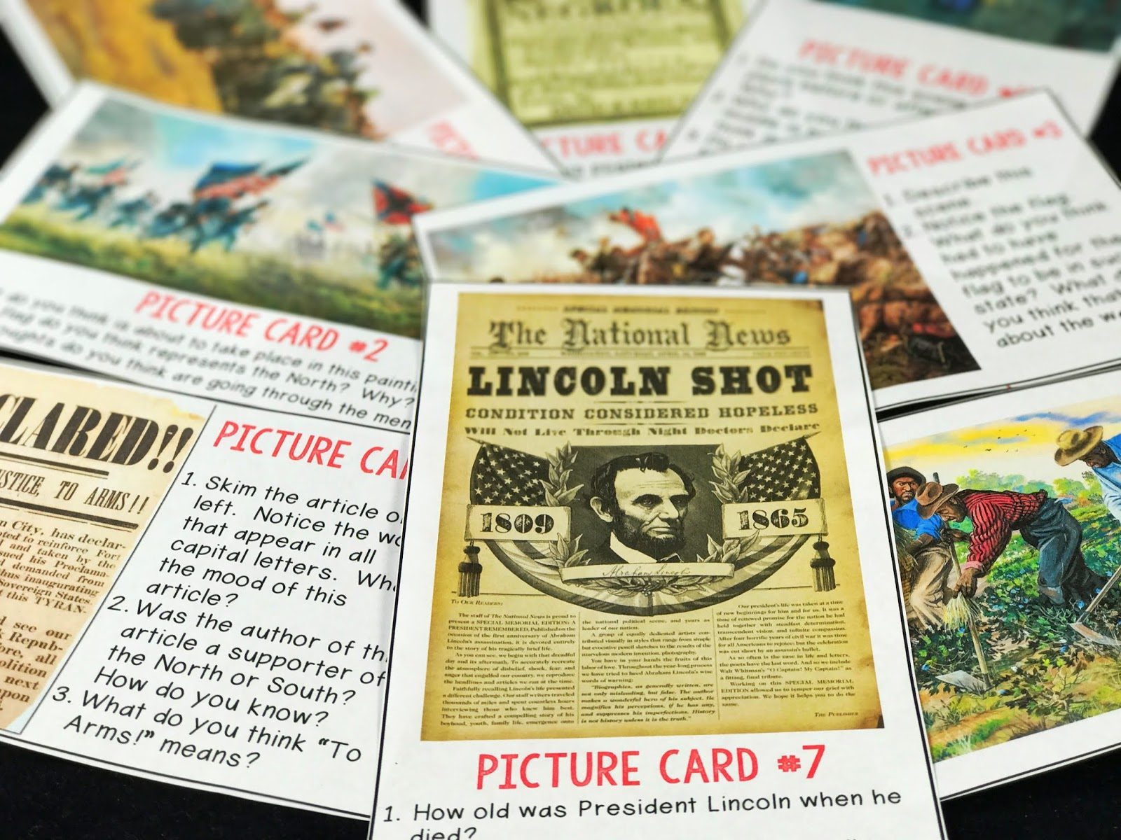 Allowing students to see real pictures from the past help them to visualize a period in history more accurately.