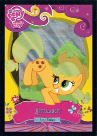 My Little Pony Applejack [Apple Farmer] Series 2 Trading Card