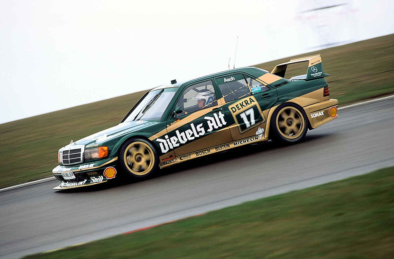 Mercedes Benz Old Race Cars