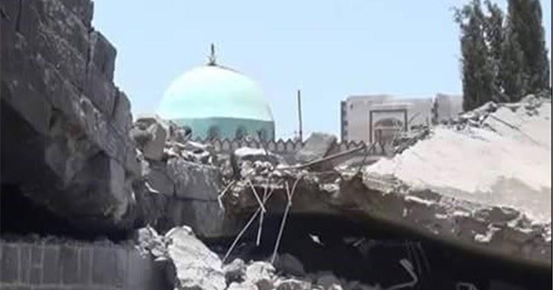 Agresi AS-Saudi Akibatkan Ratusan Masjid di Yaman Rusak