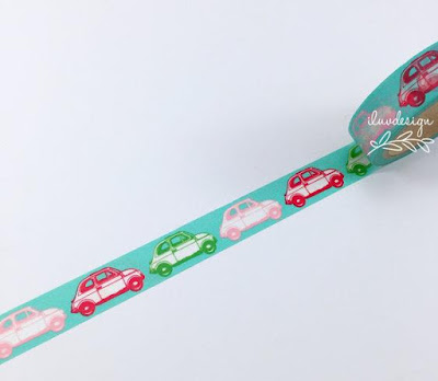 Volkswagen Beetle Washi Tape