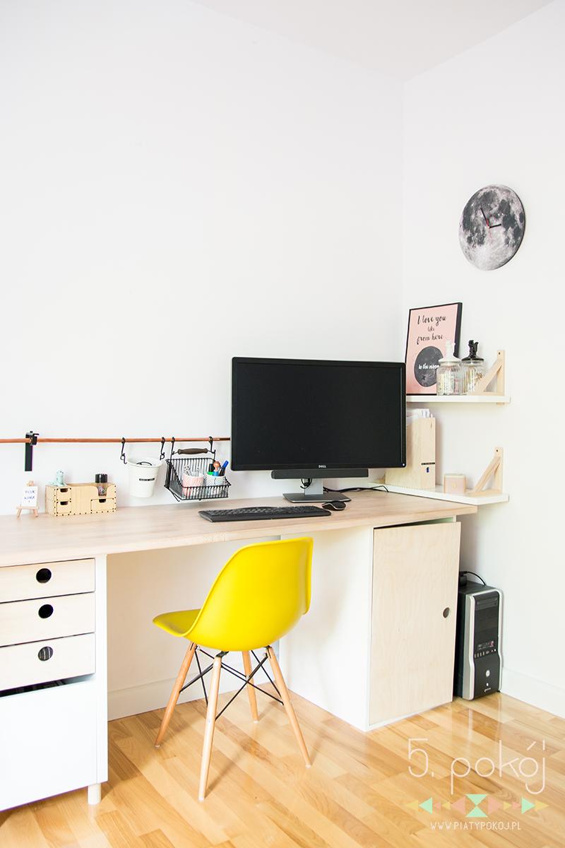 jak urządzić stanowisko komputerowe w domu