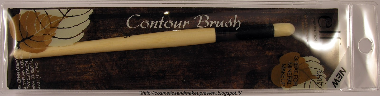 E.L.F. Contour Brush - packaging