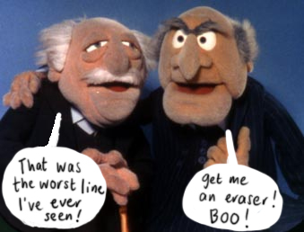 Les Misérables Funny Picture Muppets Statler Waldorf