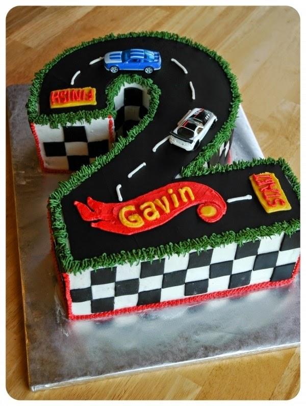 Racing Cake Decorations