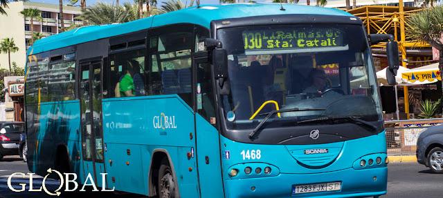 Gran Canaria Karte Flughafen.Gran Canaria Reise Info öffentliche Verkehrsmittel Las Palmas