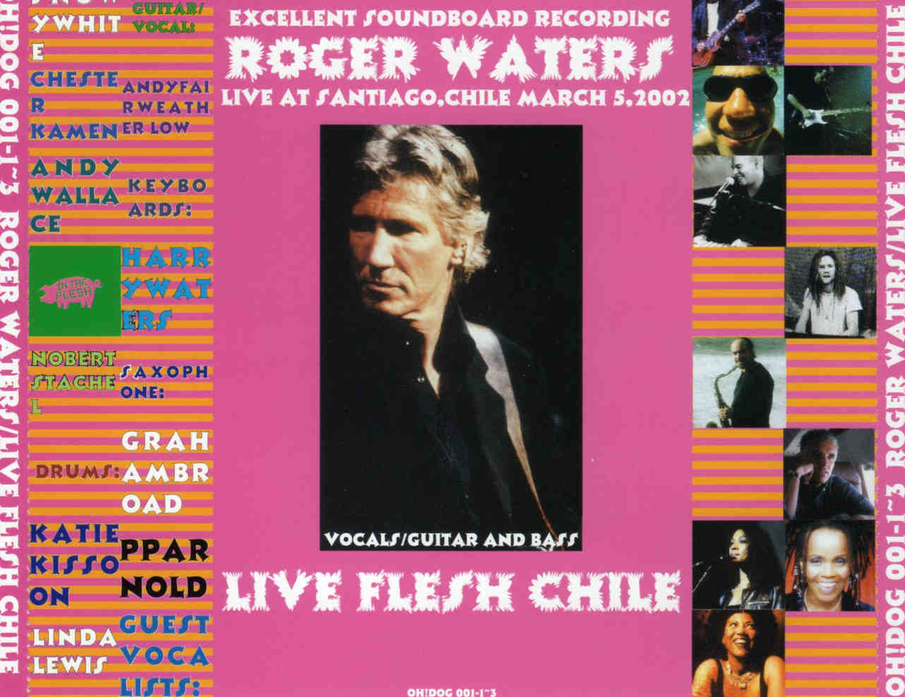 Roger Waters: Live Flesh Chile  Stadio National, Santiago, Chile
