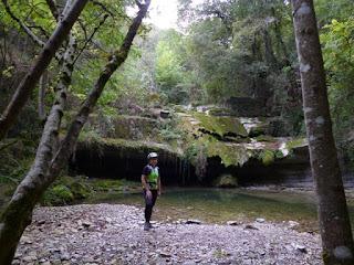 Cascada. Río Hijuela